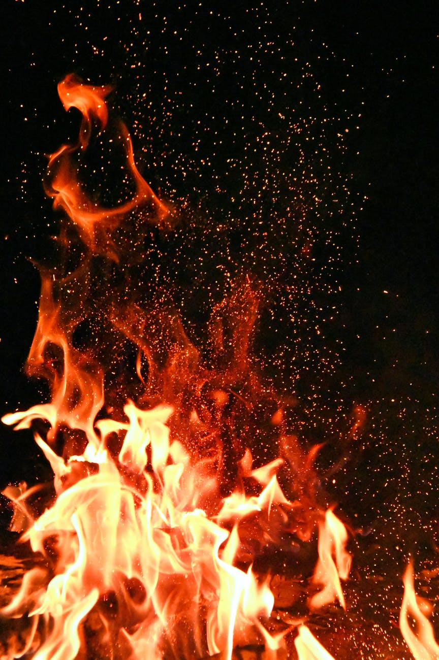 Decorative picture of fire
